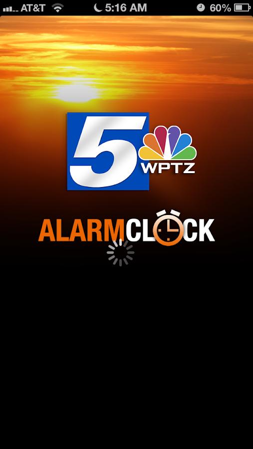 Alarm Clock WPTZ NewsChannel 5 - screenshot