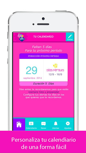 Mi Calendario by Nosotras 2.10 screenshots 2