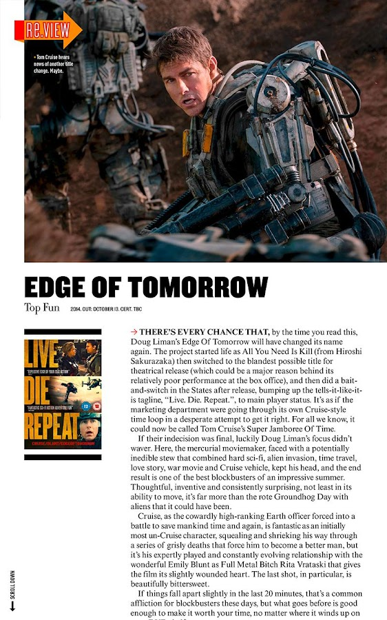 Empire magazine for movie news - Android Apps on Google Play