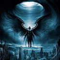 Dark Angel 3D Live Wallpaper icon