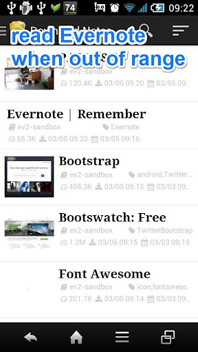 EveryEver for Evernote