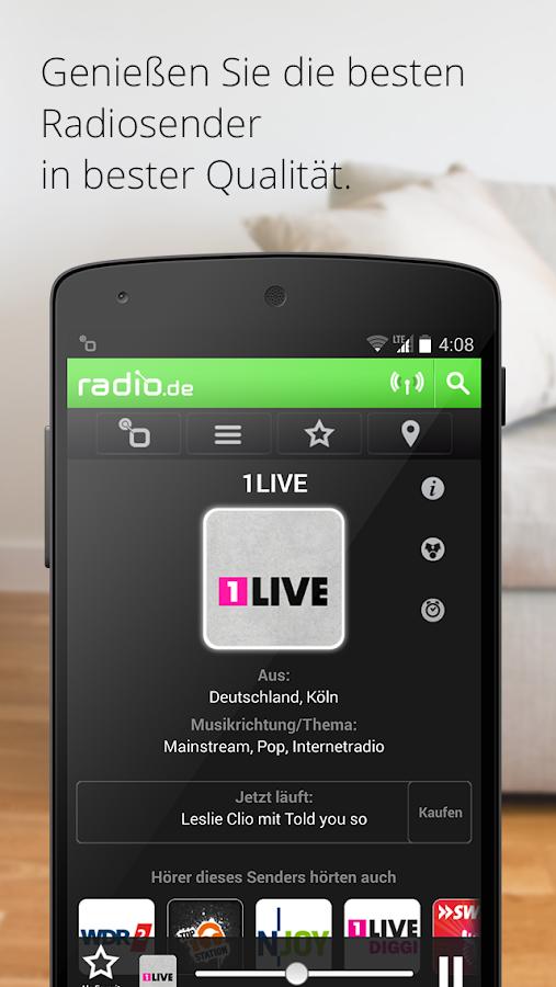 Radio De App Android Kostenlos