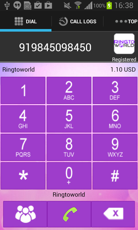 RingtoWorld- screenshot
