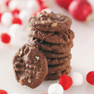 Macadamia Cocoa Cookies.