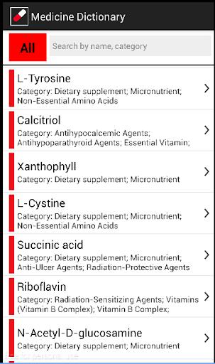 Medicine Dictionary Free