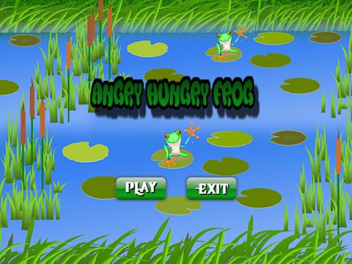 Angry Hungry Frog