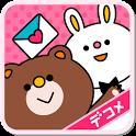 デコマーケット★無料デコメ絵文字&スタンプデコ画像 icon