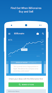 iBillionaire: Investment Ideas: miniatura de captura de pantalla