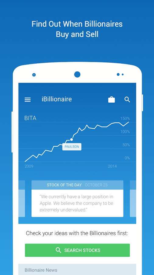 iBillionaire: Investment Ideas: captura de pantalla