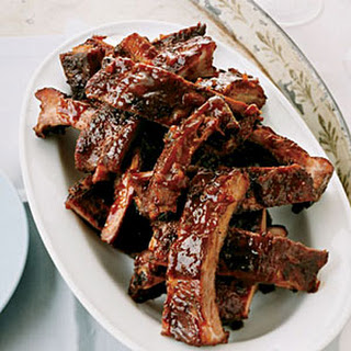Spicy and Sticky Baby Back Ribs.