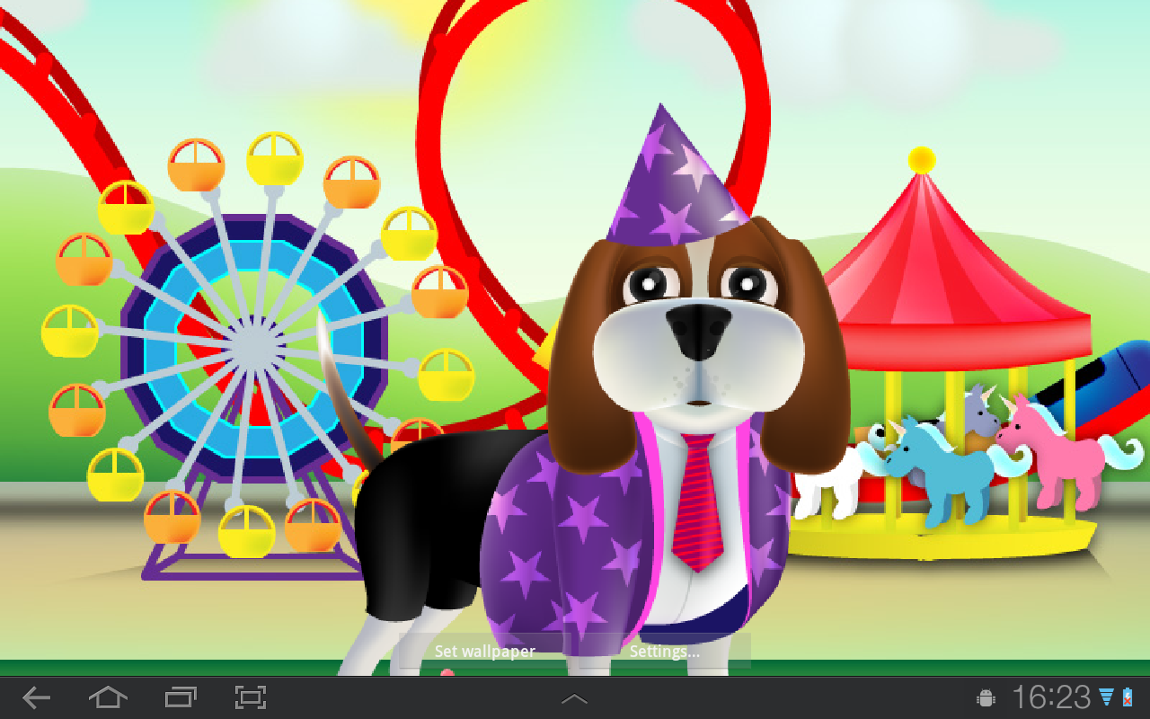 Dog Live Wallpaper - screenshot