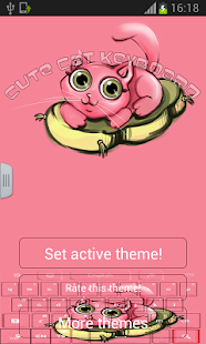 Cute Cat Keyboard - screenshot thumbnail
