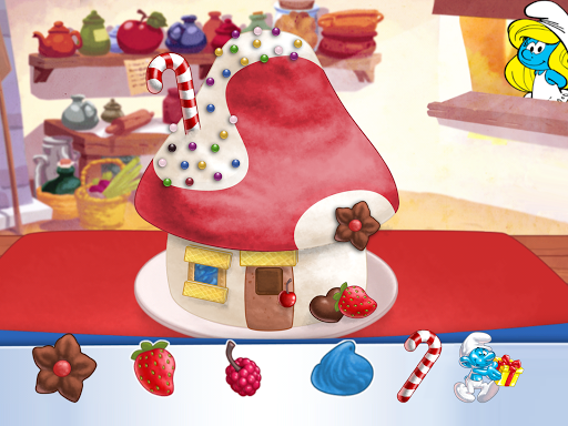 The Smurfs Bakery Screenshot