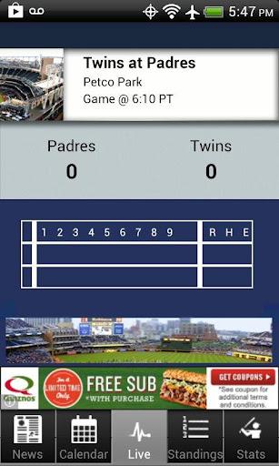 【免費運動App】San Diego Baseball-APP點子