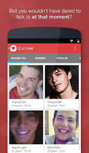 Chat, Flirt & Dating ♥ JAUMO - screenshot thumbnail