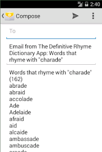 the rhyme dictionary apps on google play