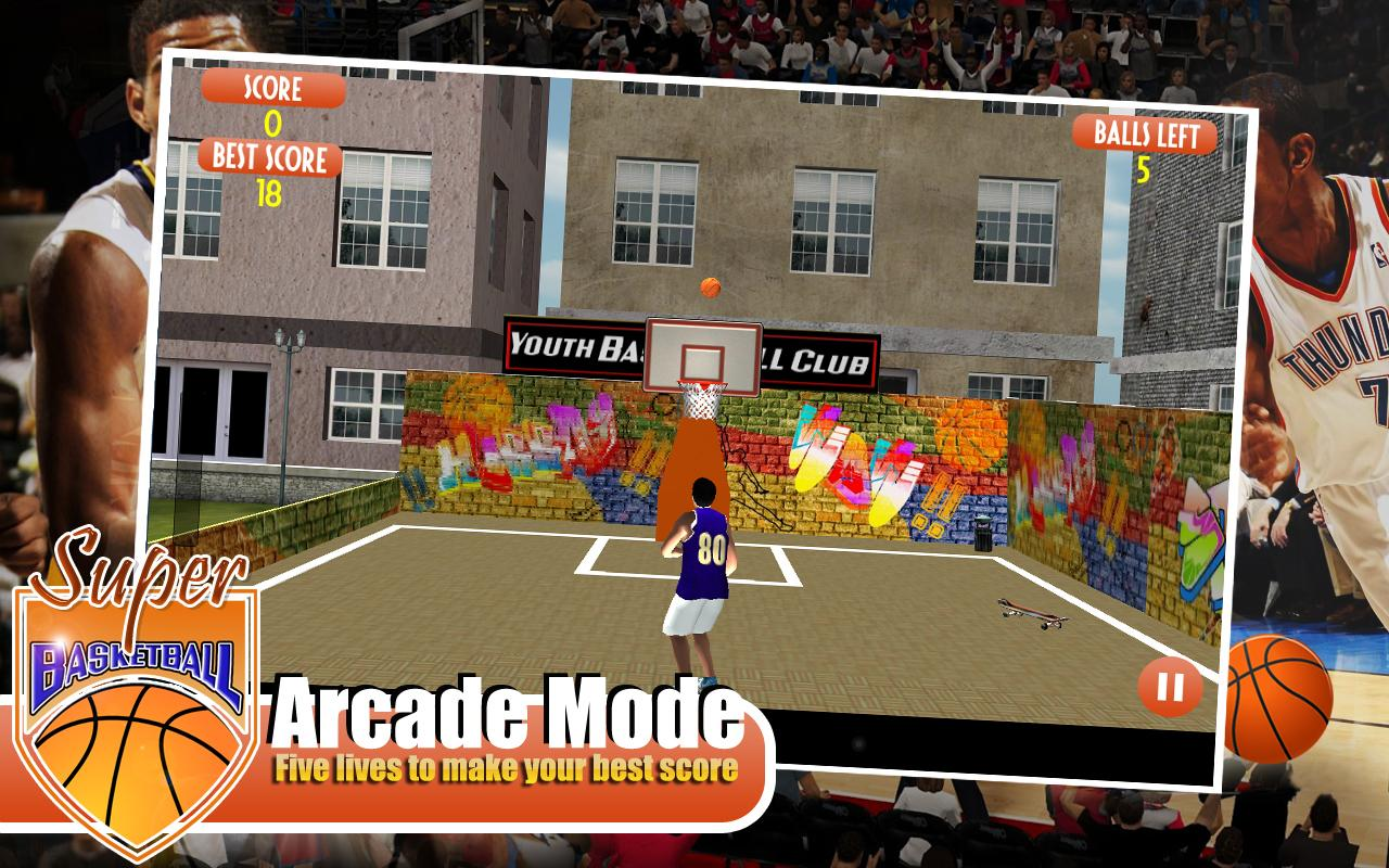 2 player basketball games free