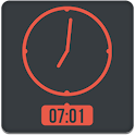 Minimal Red Theme UCCW SKIN icon