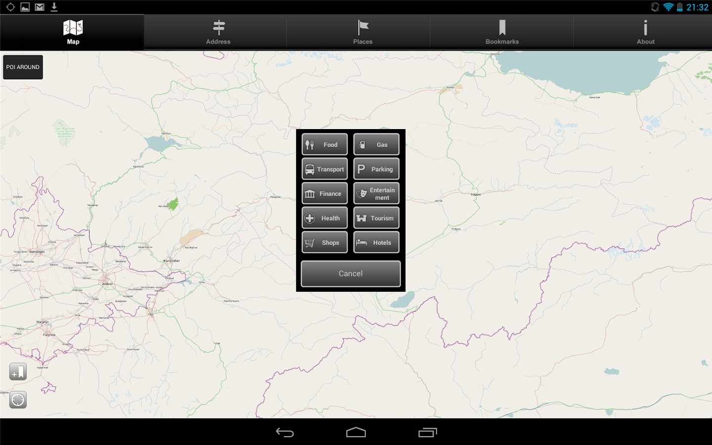 Offline Map Kyrgyzstan - screenshot