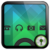 Sense Black theme GO Locker