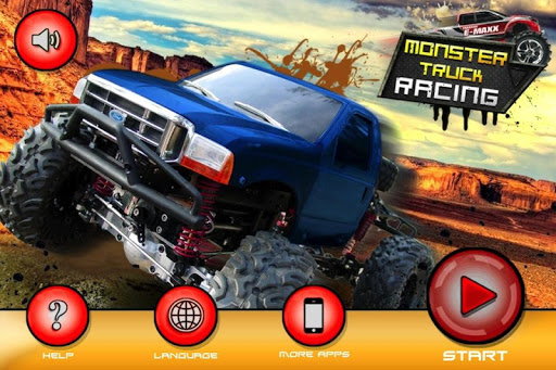 Monster Truck Racing 3D Game
