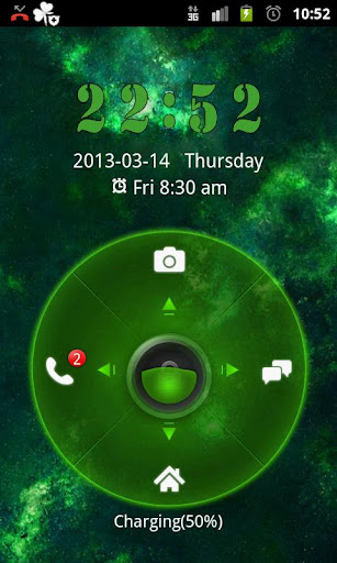 GO Locker Theme Planets