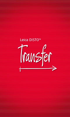 Leica DISTO™ transfer - screenshot