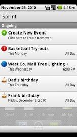 My Schedule Screenshot 1
