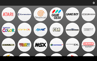 Screenshot of Gamesome Frontend
