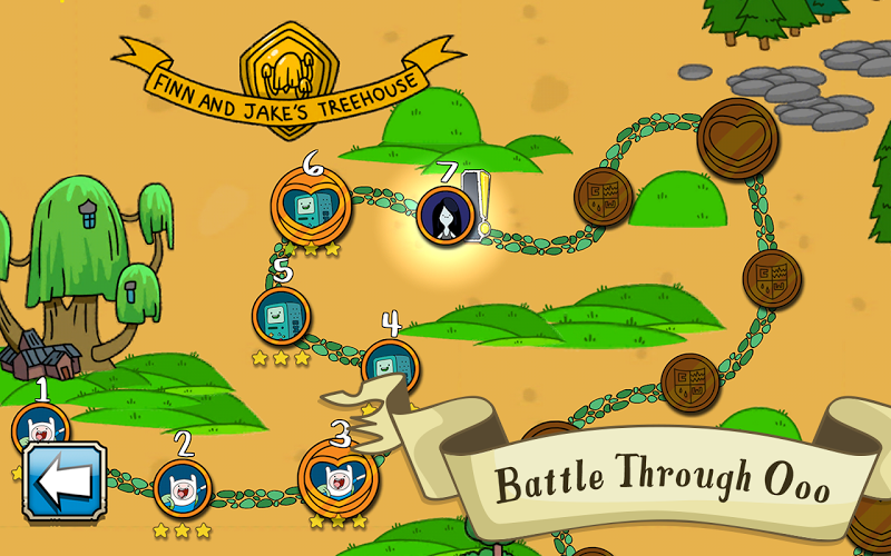 Card Wars - Adventure Time - screenshot
