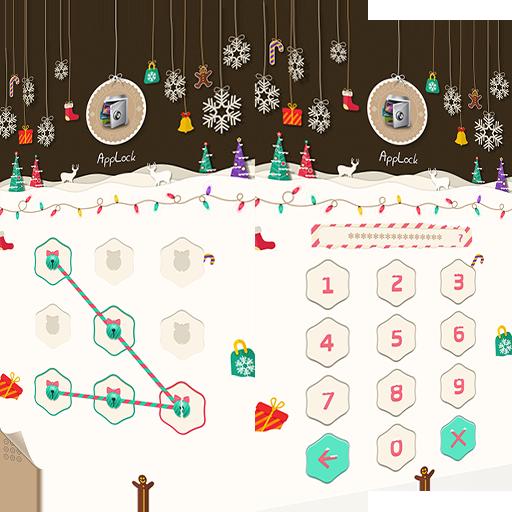 AppLock Theme Xmas & New Year