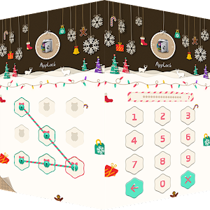 AppLock Theme Xmas & New Year for Android
