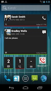 Missed Call / SMS Reminder Pro- screenshot thumbnail
