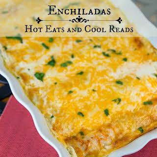 Baked Cream Cheese Chicken Enchiladas Recipes.