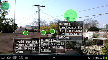 Screenshot of Widespread Augmented Reality 1