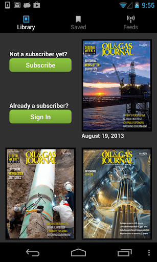 Oil Gas Journal Magazine