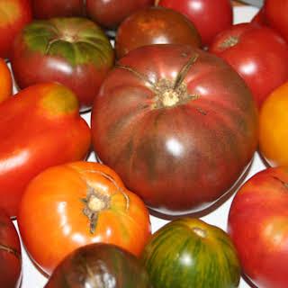 Heirloom Tomato Ceviche.