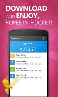 RupeeHunt - Get Real Rupee - screenshot