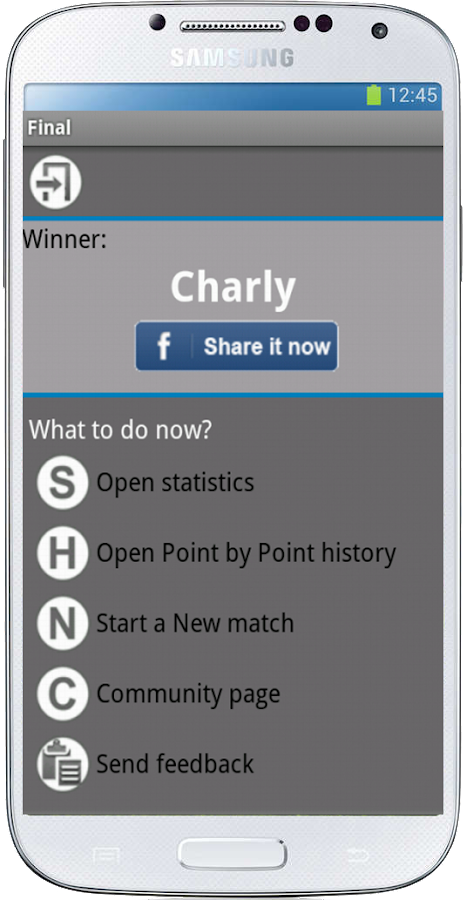 Tennis Stats Pro (free) - screenshot