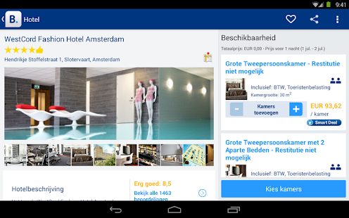 Booking.com - 445.000+ hotels - screenshot thumbnail