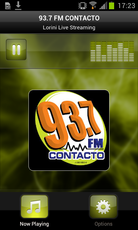 93.7 FM CONTACTO- screenshot