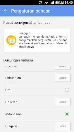 GO SMS PRO INDONESIA LANGUAGE 1.2 screenshot 274577