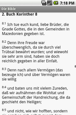 Die Bibel (Martin Luther vers)- screenshot