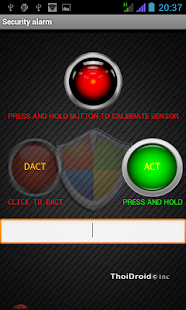 Anti theft Security alarm pro- screenshot thumbnail