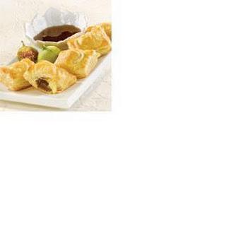 Fig and Camembert Ravioli with Honey Balsamic Glaze