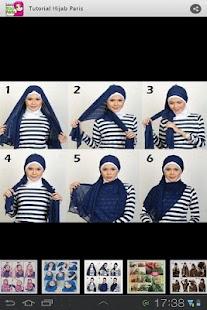 Tutorial Hijab Paris - screenshot thumbnail