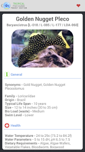 Tropical Fish Guide Pocket Ed. - screenshot thumbnail