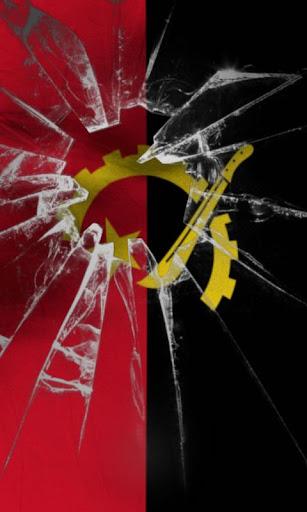 Angola flag Free
