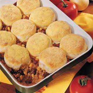 Beef 'n' Biscuit Bake