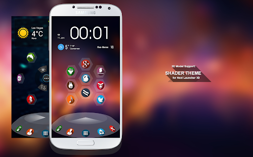 Next Launcher Theme Shader